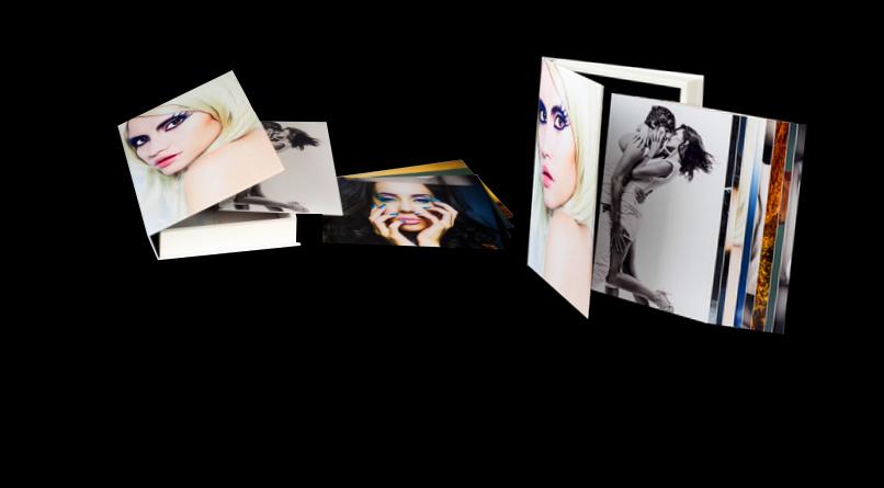 Modèle Boîte à photos couverture personnalisée Page Boîte à Photos
