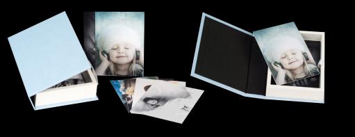 Modèle Boîte à photos SimiliCuir Page Boîte à Photos